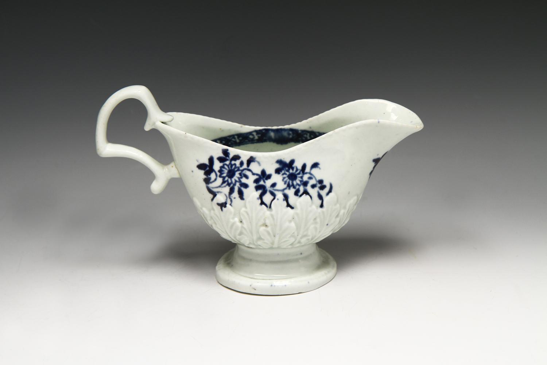 1065 - A Liverpool Seth Pennington creamer c 1780